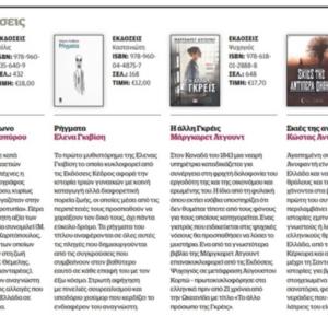 documento: Παρουσίαση βιβλίου μας στο Documento
